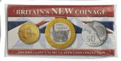2004 New Coinage Brilliant Uncirculated Pack